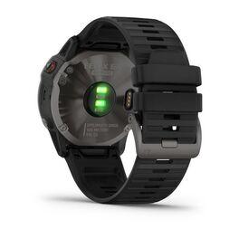 Мультиспортивные часы Garmin Fenix 6X Sapphire с GPS, серые с черным ремешком (010-02157-11) #8