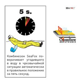 Костюм Seafox поплавок CROSSFLOW ONE /S (SFXCRSFL1-S) #1