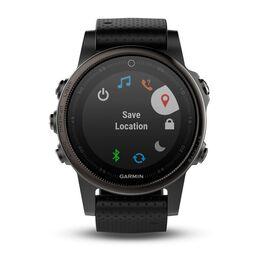 Мультиспортивные часы Garmin Fenix 5S Sapphire с GPS, черные (010-01685-11) #2