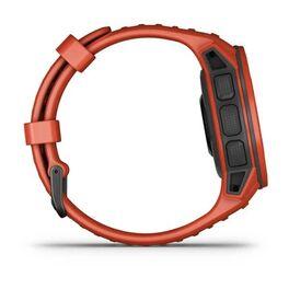 Защищенные GPS-часы Garmin Instinct Solar, цвет Flame Red (010-02293-20) #3