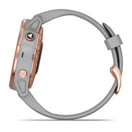 Мультиспортивные часы Garmin Fenix 6S Sapphire с GPS, розов.золото с серым ремешком (010-02159-21) #9