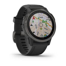 Мультиспортивные часы Garmin Fenix 6S Sapphire с GPS, серые с черным ремешком (010-02159-25) #2