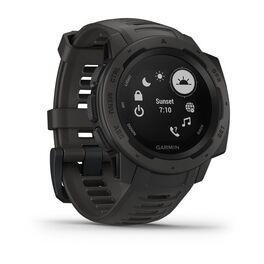 Защищенные GPS-часы Garmin Instinct, цвет Monterra Gray (010-02064-00) #2