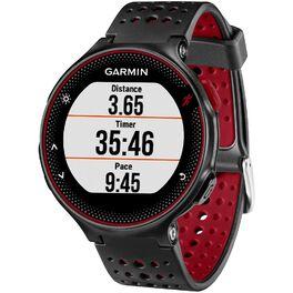 Спортивные часы Garmin Forerunner 235 Black/Marsala Red (010-03717-71) #1