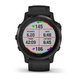 Мультиспортивные часы Garmin Fenix 6S PRO с GPS, черные с черным ремешком (010-02159-14) #5