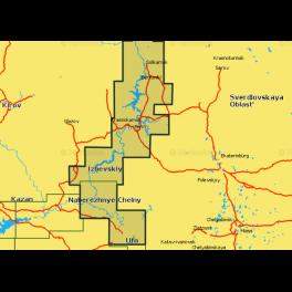 Карта navionics 5g636s2 река Белая и верхняя Кама (5g636s2). Артикул: 5G636S2