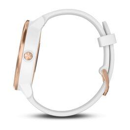Смарт часы Garmin Vivoactive 3 розовое золото, бел.силик.ремешок ( 010-01769-07) #4