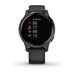 Смарт часы Garmin Vivoactive 4S светло-серые с серебристым безелем (010-02172-03) #1