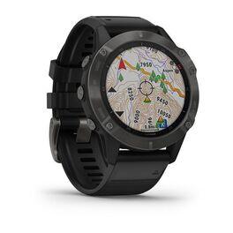 Мультиспортивные часы Garmin Fenix 6 Sapphire с GPS, серые с черным ремешком (010-02158-11) #2