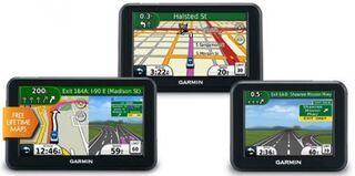 Автомобильные навигаторы Garmin 2012 года