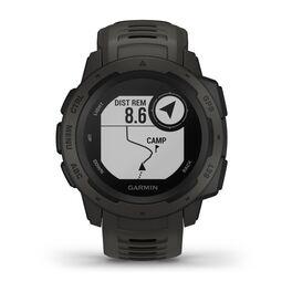 Защищенные GPS-часы Garmin Instinct, цвет Monterra Gray (010-02064-00) #3