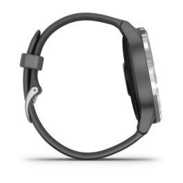 Смарт часы Garmin Vivoactive 4 серые с серебристым безелем (010-02174-03) #4