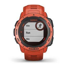 Защищенные GPS-часы Garmin Instinct Solar, цвет Flame Red (010-02293-20) #2