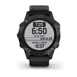 Мультиспортивные часы Garmin Fenix 6 PRO с GPS, черные с черным ремешком (010-02158-02) #1