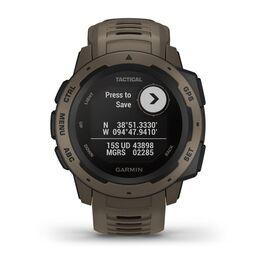 Защищенные GPS-часы Garmin Instinct Tactical, цвет Coyote Tan (010-02064-71) #3