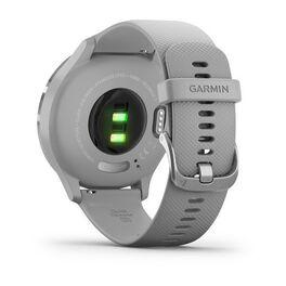 Часы с трекером активности Garmin VivoMove 3, серебр. с серым силиконовым ремешком (010-02239-20) #5
