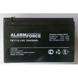 Аккумулятор свинцово-кислотный 12v 7А. Артикул: АКБ 7,0 Ач