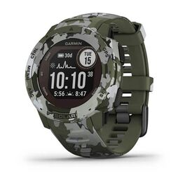 Защищенные gps-часы garmin instinct solar, цвет lichen camo. Артикул: 010-02293-06