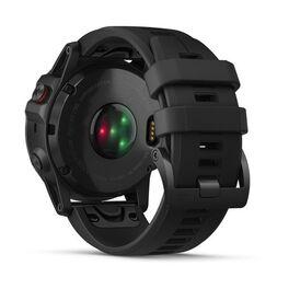 Мультиспортивные часы Garmin Fenix 5x PLUS Sapphire RUSSIA черные с черным ремешком (010-01989-11) #7