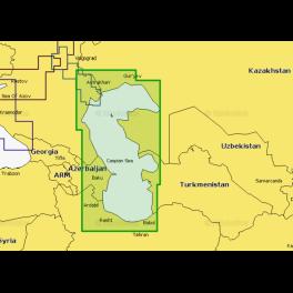Карта navionics 5g036s Каспийское море (5g036s). Артикул: 5G036S