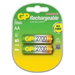 Аккумулятор gp r-06 2700mah ni-mh, 2шт. в блистере (n_00005330). Артикул: N_00005330