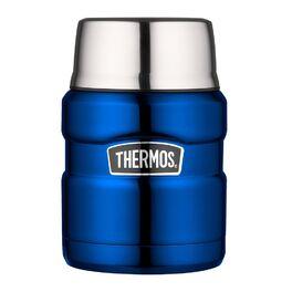 Термос из нержавеющей стали Thermos SK3000BL, 0.470L, с ложкой (409362) #1