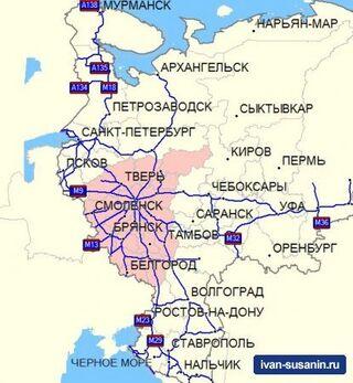 Официальное обновление: GPS карт Дороги России. Федеральные округа. Версия 4.03