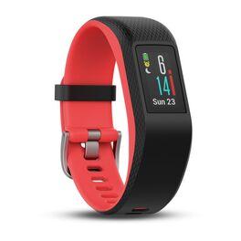 Фитнес-браслет Garmin VivoSPORT c GPS и встроенн. пульсом., серый-фуксия, размер S/M (010-01789-21) #1