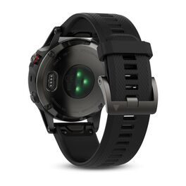 Мультиспортивные часы Garmin Fenix 5 с GPS, серые с черным ремешком (010-01688-00) #3