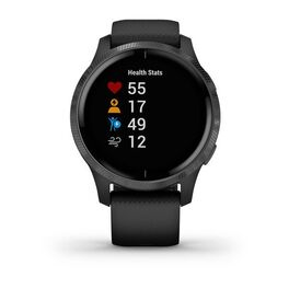 Смарт-часы Garmin Venu, Wi-Fi, Black/Slate с GPS (010-02173-13) #1