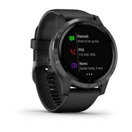 Смарт часы Garmin Vivoactive 4 черные с серым безелем (010-02174-13) #1