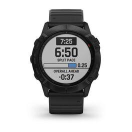 Мультиспортивные часы Garmin Fenix 6X PRO с GPS, черные с черным ремешком (010-02157-01) #1