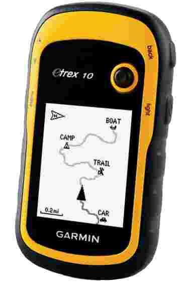 Навигатор Garmin eTrex 10 GPS, Глонасс Russia (010-00970-01) #1