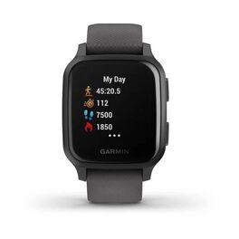 Смарт-часы Garmin Venu Sq NFC серые с серым силиконовым ремешком (010-02427-10) #2