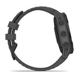 Мультиспортивные часы Garmin Fenix 6 Pro Solar с GPS, черный с серым ремешком (010-02410-11) #3