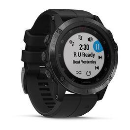 Мультиспортивные часы Garmin Fenix 5x PLUS Sapphire RUSSIA черные с черным ремешком (010-01989-11) #2