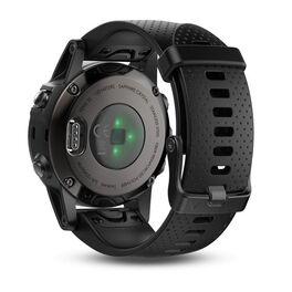 Мультиспортивные часы Garmin Fenix 5S Sapphire с GPS, черные (010-01685-11) #1