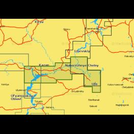 Карта navionics 5g633s2 река Белая и нижняя Кама (5g633s2). Артикул: 5G633S2