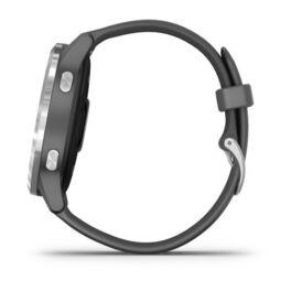 Смарт часы Garmin Vivoactive 4 серые с серебристым безелем (010-02174-03) #7