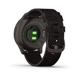 Часы с трекером активности Garmin VivoMove Style графит с плетеным черн. ремешком (010-02240-23) #4