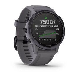 Мультиспортивные часы Garmin Fenix 6S Pro Solar GPS, аметистовый с темно-серым ремешк (010-02409-15) #1