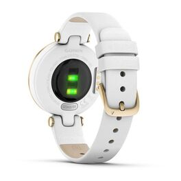 Фэшн смарт-часы Garmin Lily LightGold White Leather (010-02384-B3) #5