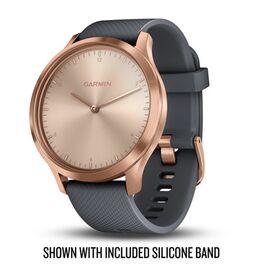 Часы с трекером активности Garmin VivoMove HR Premium, роз.золото, кожа сер. 127-204мм(010-01850-09) #2