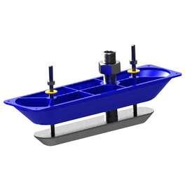 Датчик (трансдьюсер) lowrance structurescan 3d стальной, сквозь корпус. Артикул: 000-13559-001