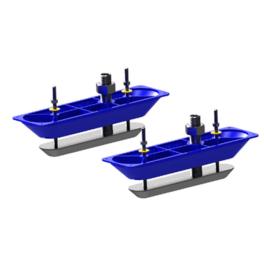 Датчик (трансдьюсер) lowrance structurescan ss стальной, сквозь корпус, 2шт. и y-каб. Артикул: 000-11460-001