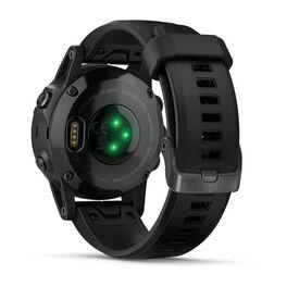 Мультиспортивные часы Garmin Fenix 5S PLUS Sapphire черные с черным ремешком (010-01987-03) #5