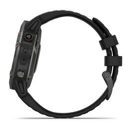 Мультиспортивные часы Garmin Fenix 6 Sapphire с GPS, серые с черным ремешком (010-02158-11) #9