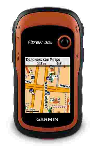 Навигатор eTrex 20X GPS, Глонасс Russia Garmin. Артикул: 010-01508-01