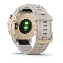 Мультиспортивные часы Garmin Fenix 6S Pro Solar GPS, золотистый с песочным ремешком (010-02409-11) #8