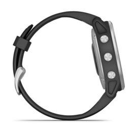 Мультиспортивные часы Garmin Fenix 6S с GPS, серебристые с черным ремешком (010-02159-01) #4